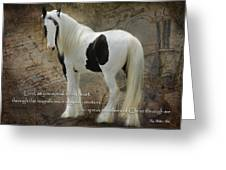 Speak To My Heart Greeting Card by Terry Kirkland Cook