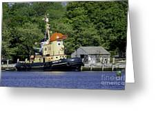 Special Seaport Visitor Greeting Card