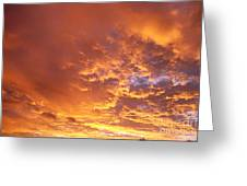 Spectacular Sunrise Greeting Card