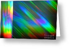 Spectral Curtain Greeting Card