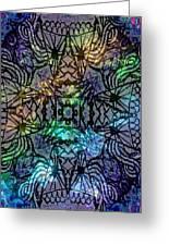 Spectrum Grid Greeting Card