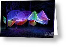 Spectrum Trees Greeting Card