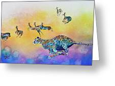 Speed Kills Greeting Card by Larry  Johnson