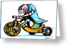 Speed Racer Greeting Card