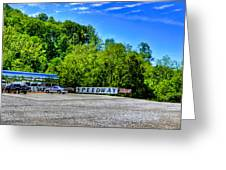 Speedway Diner Greeting Card