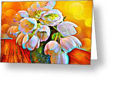 Spektrel Flowers Greeting Card