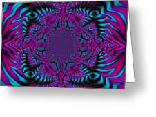 Spellbound - Abstract Art Greeting Card