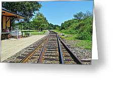 Spencer Railroad Station 2 Greeting Card