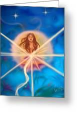 Sphere Of Llight  Greeting Card