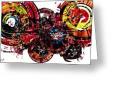 Spherical Joy Series 61.100211 Greeting Card
