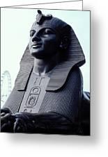Sphinx In London Greeting Card