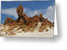 Sphinx Of South Australia Greeting Card
