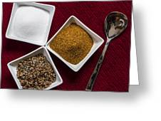 Spices  6070 Greeting Card