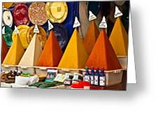 spices of Morocco Greeting Card