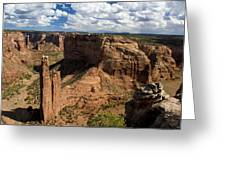 Spider Rock Canyon De Chelly Greeting Card