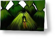 Spider Volcano Progression 5 Greeting Card