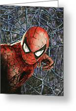 Spiderman Greeting Card