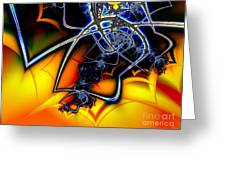 Spiders Lair Greeting Card
