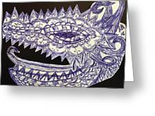 Spike Dragon Greeting Card