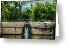 Spillway Greeting Card