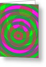 Spin 4 Greeting Card