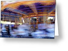 Spin Fast Greeting Card