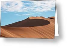Spine Of The Desert Greeting Card