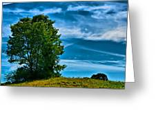 Sping Landscape In Nh 3 Greeting Card