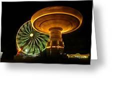 Spinning Fair Fun Greeting Card