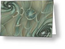 Spinning Galaxies Greeting Card