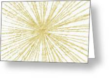 Spinning Gold- Art By Linda Woods Greeting Card