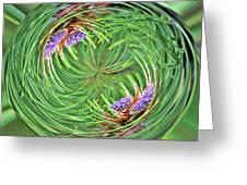 Spinning Pinecone Greeting Card