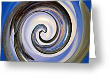 Spinning The Day Away Greeting Card