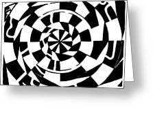 Spinning Tunnel Maze Greeting Card
