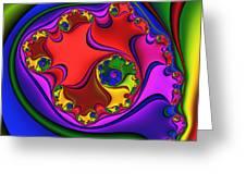 Spiral 218 Greeting Card