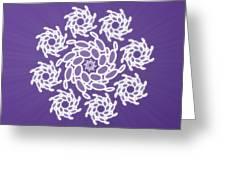 Spiral Dance Greeting Card