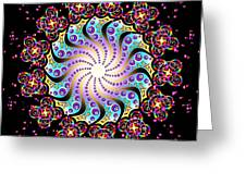Spiral Dance Greeting Card