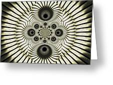 Spiral Eyes Greeting Card