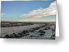 Spiral Jetty 2 Greeting Card