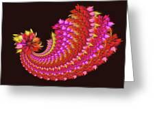 Spiral Of Joy Greeting Card