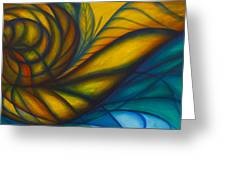 Spiral Out Greeting Card