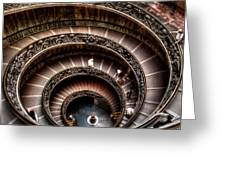 Spiral Staircase No1 Greeting Card