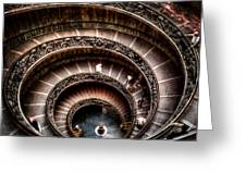 Spiral Staircase No2 Greeting Card