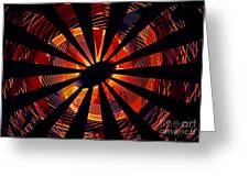 Spiral To Infinity Greeting Card