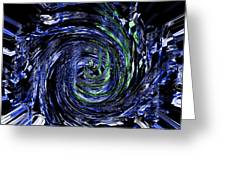 Spiral Vision Greeting Card