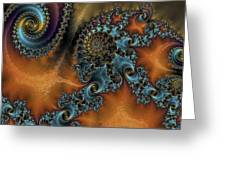 Spirals Greeting Card