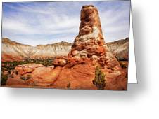 Spire Rocks At Kodachrome Basin State Park Greeting Card