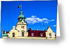 Spires Of Kalmar Greeting Card