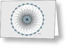 Spiralgon Too Greeting Card