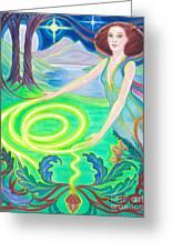 Spirit Guide Antarra Greeting Card